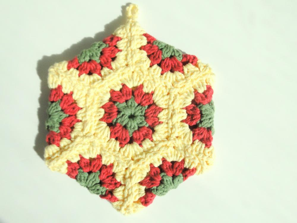 Hexagon Potholder