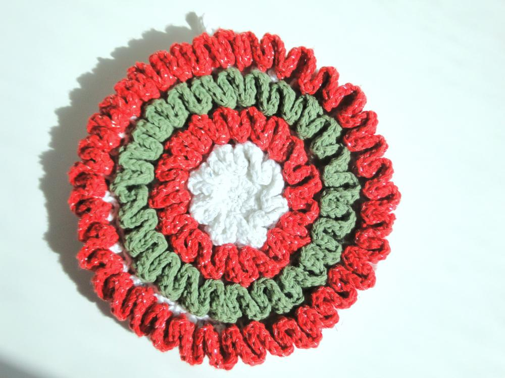 Wriggly Christmas Potholder